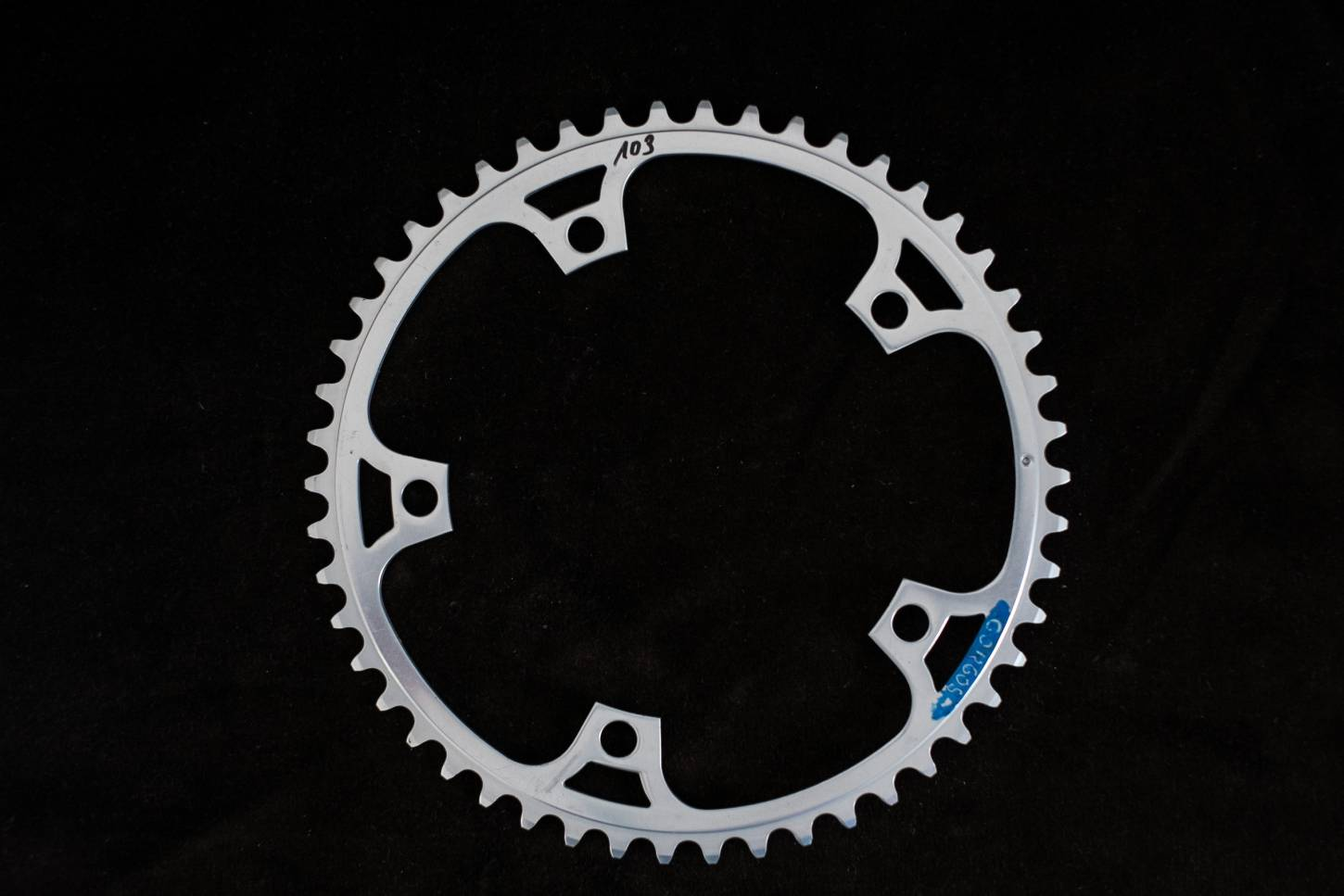 Pantographed Campagnolo Grandis chainring / chainring 144 LK 50 teeth