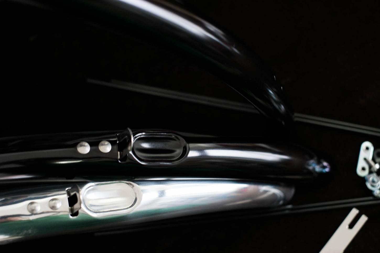 Dia-Compe, ENE Schutzbleche, Aluminium poliert, black, 28 Zoll, 35 mm, Breite