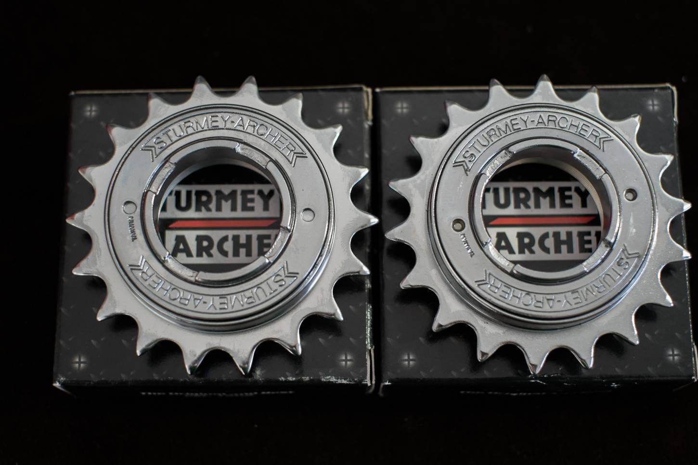 Sturmey Archer Freilauf Ritzel16 Z + 17 Z + 18 Z für dicke Kette 1/2 x 1/8